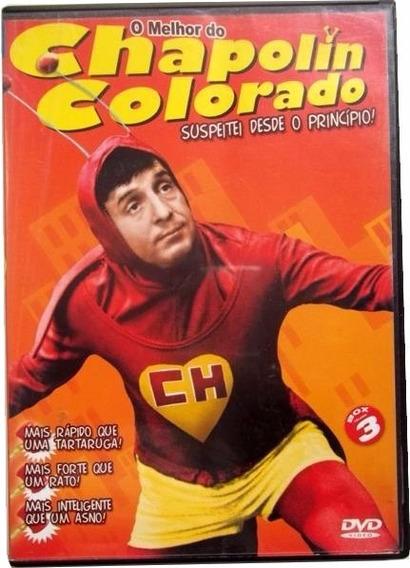 O Melhor Do Chapolin Colorado Dvd Original Novo Lacrado