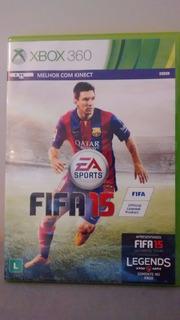 Fifa 15 Para Xbox 360 Em Português. Contém Uma Mídia Fisica