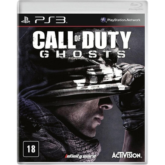 Call Of Duty Ghosts Ps3 Lacrado