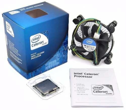 Processador Intel Celeron 2.6ghz Lga1155,55w G1610 + Cooler