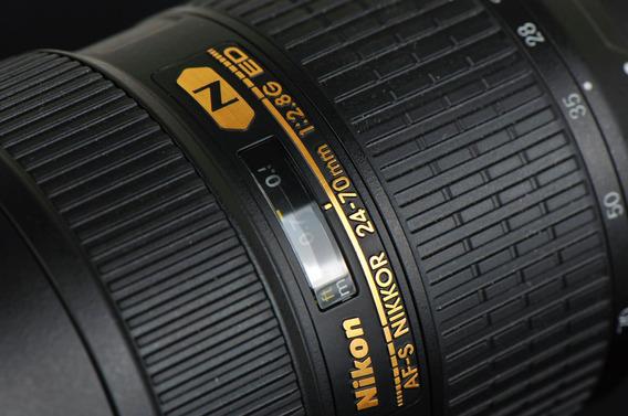 Nikon Af-s Fx Nikkor 24-70mm F/2.8g Ed Lente Dslr Cameras