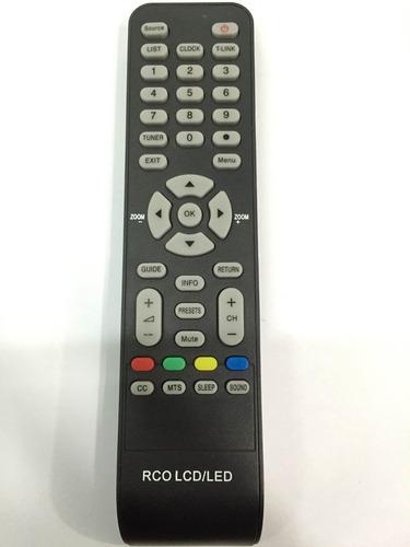 Control Remoto Alternativo Para Tv Recco