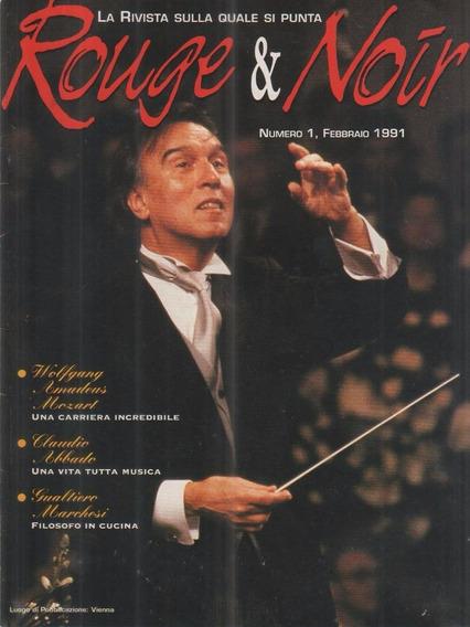 Rouge & Noir Nº 1 - Revista Italiana - Claudio Abbado Mozart