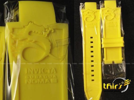 Pulseira Original Invicta Subaqua 3 Dragon De Silicone