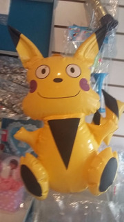 Pikachu Inflable Cotillon Casamiento Fiesta 15 Musical
