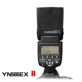 Flash Yongnuo Speedlite Yn565ex Ii Ttl Todas Câmeras Canon