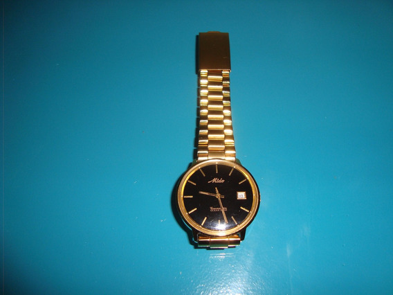 Relógio Mido Automático Dourado.