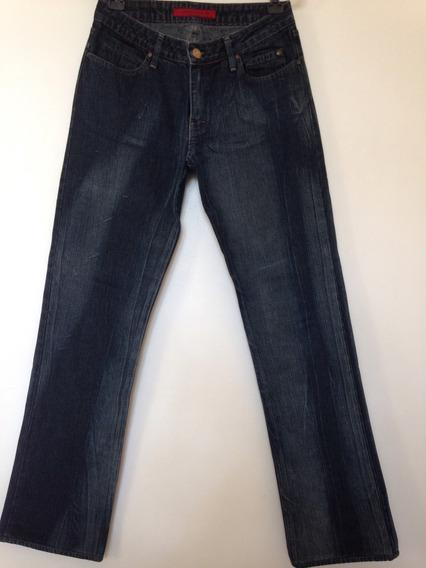 Calça Jeans Feminina Da Ellus Corte Reto Tam. 38
