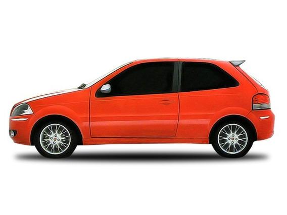 Aplique Cromado Parachoque Fiat Palio