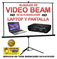 Alquiler De Video Beam Hd Y Lapto (maracaibo)