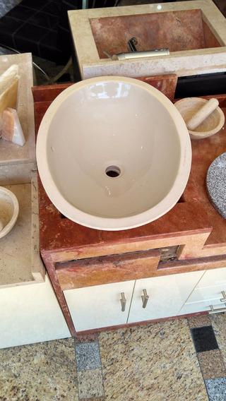 Ovalin Lavabo De Ceramica Bajo Cubierta Nuevos