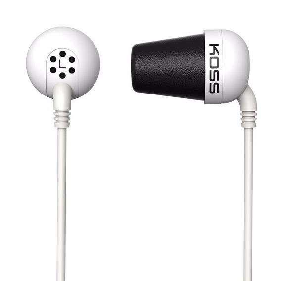 Fone De Ouvido Koss The Plug In Ear Branco