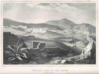 Lienzo Tela Grabado Nebel Veta Grande Zacatecas 1836 50 X 67