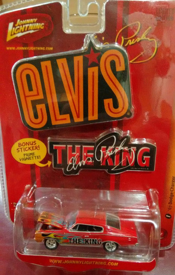 Auto 67 Dodge Charger The King Elvis Presl Metal Rock Rdf1