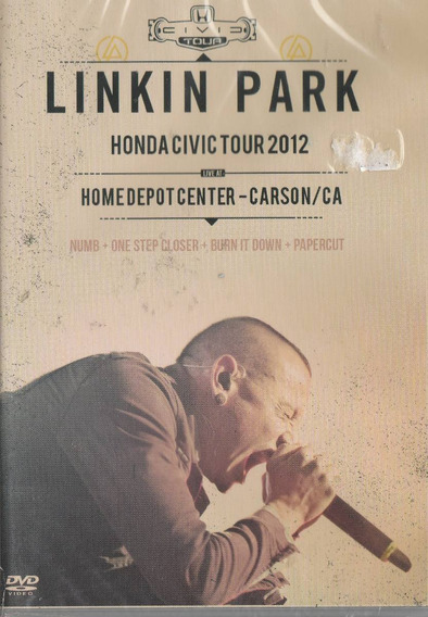 Linkin Park - Dvd Honda Civic Tour 2012 - Novo!
