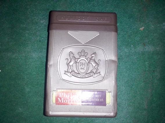 Antigua Cajita De Cigarrillos Plastica