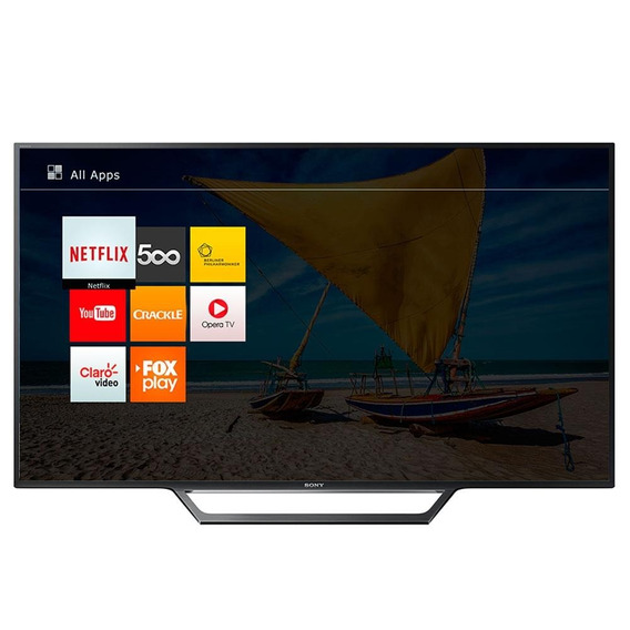 Smart Tv 48 Led Full Hd Kdl-48w655d Wi-fi, Usb,hdmi-sony