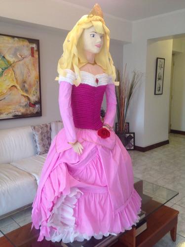 Piñata 3d Estructurada Barbie Y Princesas, Tinkerbell