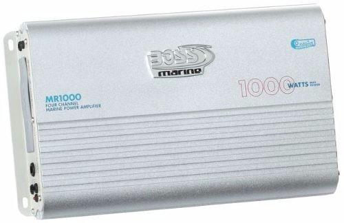 Amplificador De Potência Marinizado 1000w -boss Mr1000