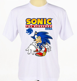 Camisetas Camisas Infantil Sonic The Hedgehog Game Sega