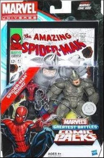 Marvel Universe Greatest Battles Spiderman & Rhino