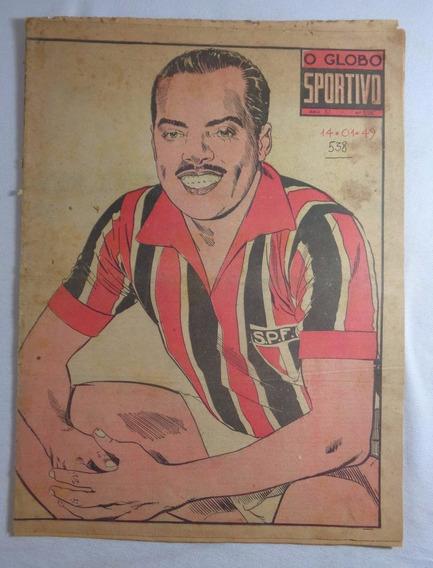 Revista O Globo Sportivo São Paulo Futebol N° 538 1949