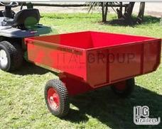 Acoplado Para Mini Tractor Trailer Para Mini Tractor