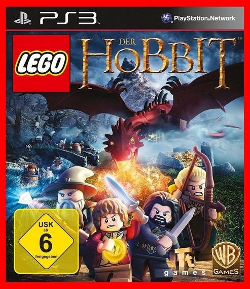 Lego O Hobbit Senhor Dos Aneis Ps3 Psn Portugues Br