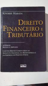Direito Financeiro E Tributário - Kiyoshi Harada