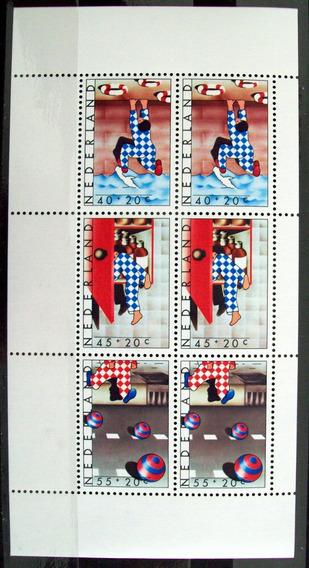 Holanda, Bloque Sc. B541a Ayuda Infantil 1977 Mint L5998