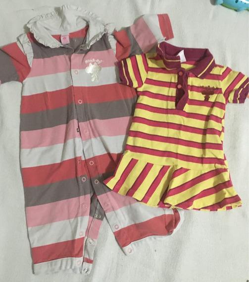 Macacão E Mini Vest Lilica Gb