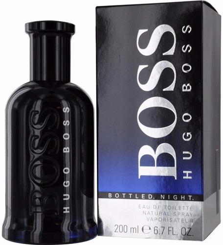 Perfume Hugo Boss Night De 200 M/l Para Hombre Original