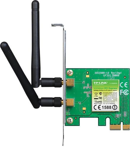 Placa Wifi Pci-express Tp-link Tl-wn881n 300mb Frete Gratis