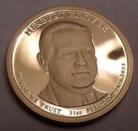 1 Dolar Americano - Herbert Hoover - Letra P - Fc