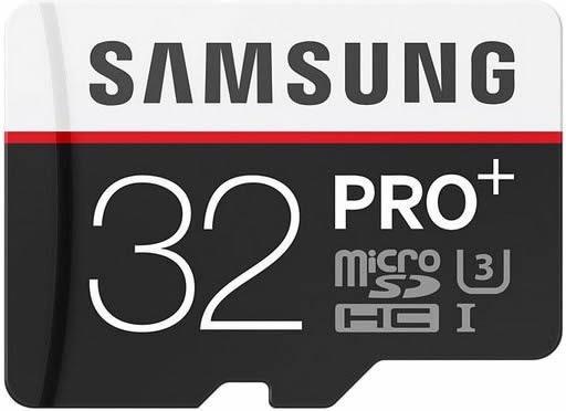 Samsung Micro Sdhcproplus+ Classe 10 95mb/s 633x 32gb 4k
