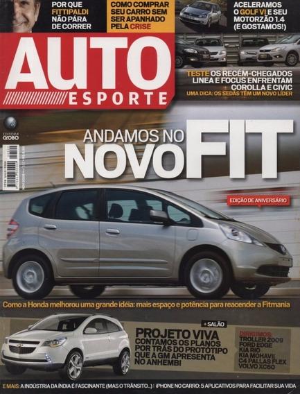 Auto Esporte Nº522 Honda Fit Linea Focus Corolla Civic Golf