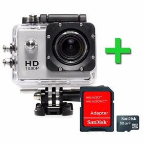 458-câmera Filmadora Sports Hd 1080p Aprov D