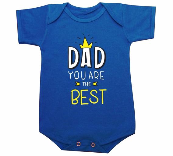 Dia Dos Pais Body De Bebe Camiseta Infantil Dad You Are The