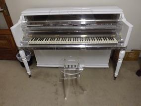 Piano Mason And Hamlin Cristal Studio Ùnico No Mundo