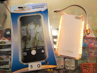 Case Lumee iPhone 5g, 6s, 6splus De Led P/ Selfie
