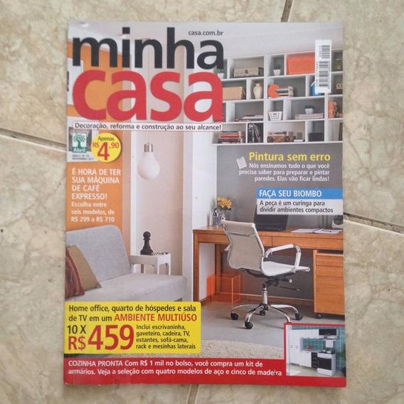 Revista Minha Casa N19 Nov2011 Home Office Pintura Sem Erro