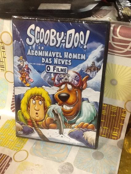 Dvd Scooby-doo E O Abominável Homem Das Neves O Filme