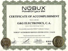 Servicio Técnico Autorizado Nobux - G&g Electronics, C.a.
