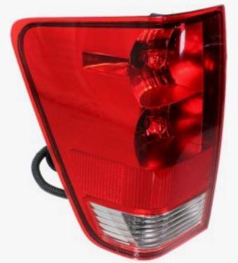 Nissan Titan 2004 - 2015 Calavera Izquierda Trasera 3 Bulbos