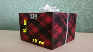 Cajas Decoradas (paquete Con 25 Pzas.)