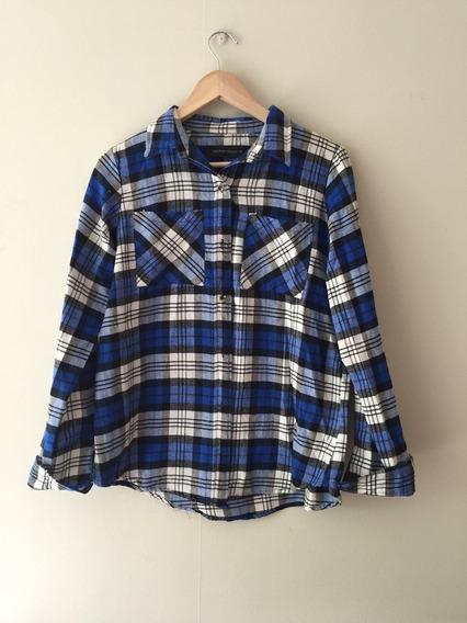 Camisa Tartan Blue