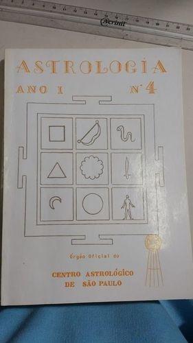 Astrologia - Ano I - Nº 4 Centro Astrológico De São Paulo