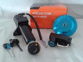 Kit Chave Ignição Ybr Factor 2008 Até 2013 Magnetron