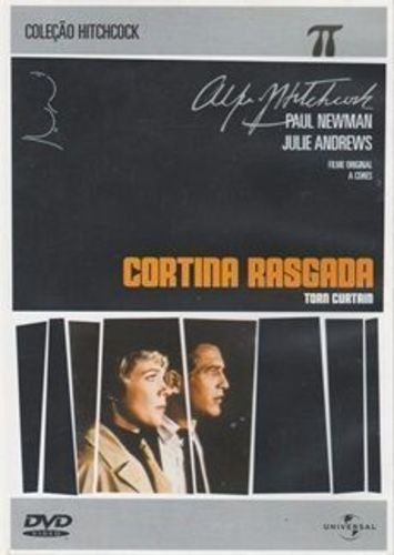 Dvd Filme - Alfred Hitchcock - Cortina Rasgada