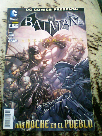 Comic Batman Arkham City # 4 Televisa Dc Comics Mexico